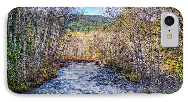 IPhone Case featuring the photograph Moody Blue River by Spencer McDonald