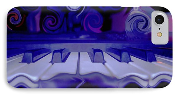 Moody Blues IPhone Case by Linda Sannuti