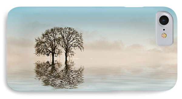 Moody Trees Phone Case by Jean Noren