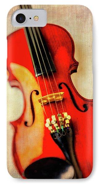 Moody Violin Phone Case by Garry Gay