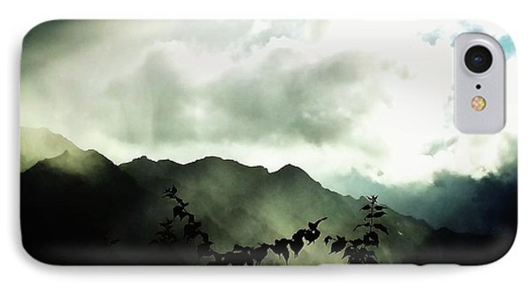 IPhone Case featuring the photograph Moody Weather by Mimulux patricia no No