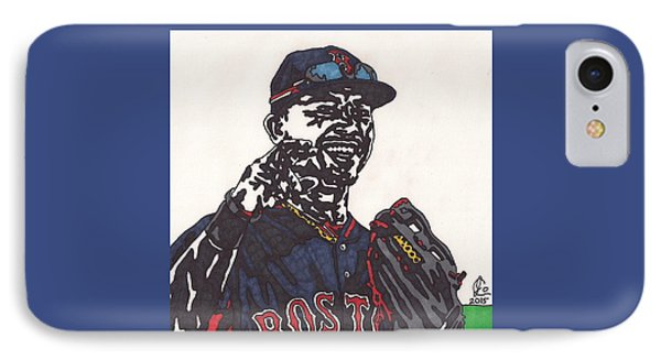 Mookie Betts 2 IPhone Case by Jeremiah Colley