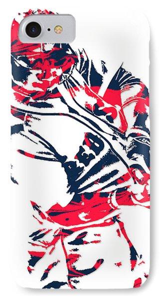 Mookie Betts Boston Red Sox Pixel Art 3 IPhone Case
