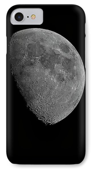 IPhone Case featuring the photograph Moon 67 Percent Fr23 by Mark Myhaver
