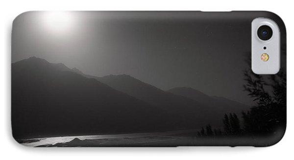 Moon Above Pyandzh Valley Phone Case by Konstantin Dikovsky
