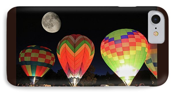 Moon And Balloons IPhone Case