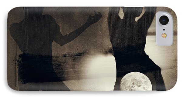 Moon And Then IPhone Case by Jessica Shelton