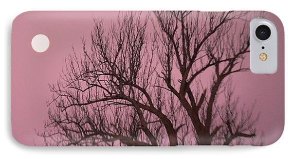 Moon And Tree IPhone Case by Sumoflam Photography