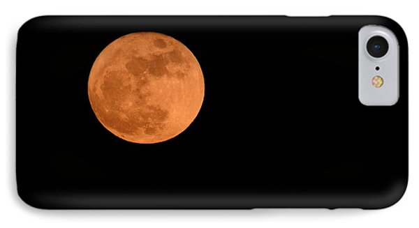 IPhone Case featuring the photograph Moon Before Yule  by Bradford Martin