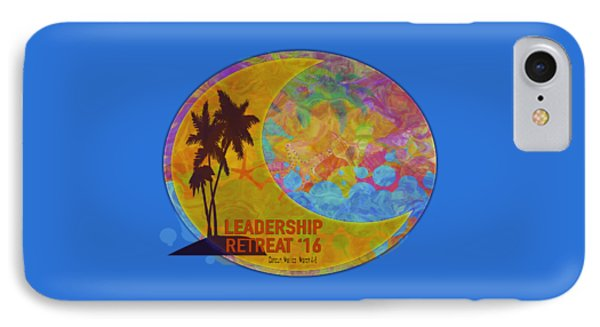 Moon Design Gin Leadership Retreat 2016  IPhone Case
