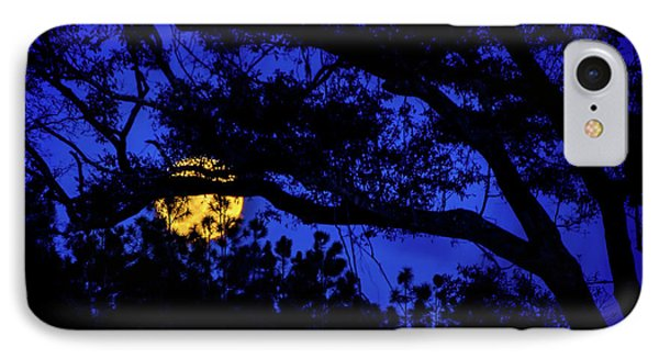 Moon Harvest IPhone Case by Mark Andrew Thomas