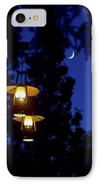 IPhone Case featuring the photograph Moon Lanterns by Mark Andrew Thomas