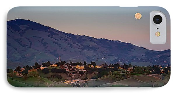 Moon Over Diablo IPhone Case