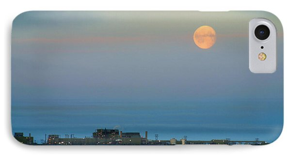 Moon Over Flow Station 1 IPhone Case