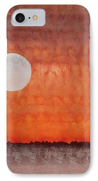 Moon Over Mojave IPhone Case by Sol Luckman