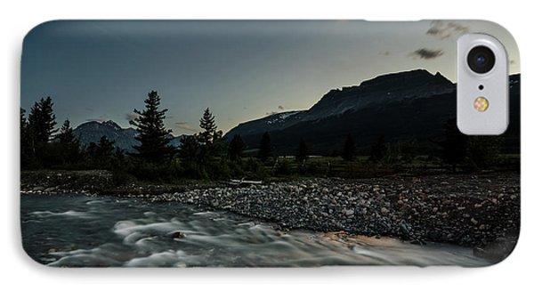 Moon Over Montana IPhone Case