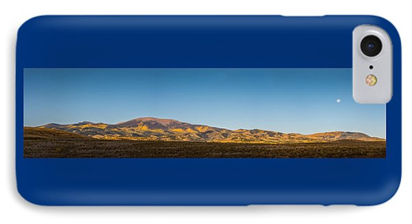 Moon Over Pintada Mountain At Sunrise In The San Juan Mountains, IPhone Case by John Brink