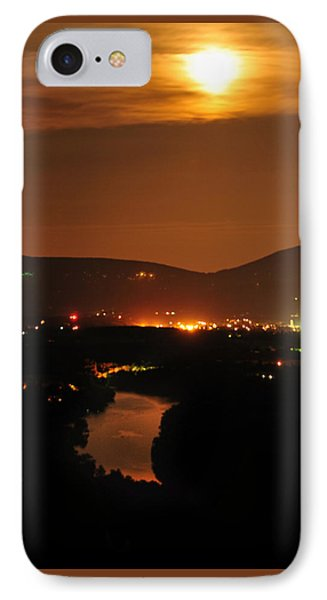 IPhone Case featuring the photograph Moon Over Shenandoah by Lara Ellis
