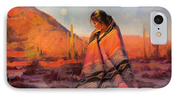 Magician iPhone 7 Case - Moon Rising by Steve Henderson