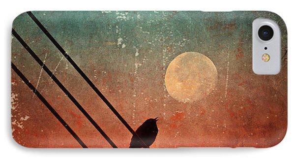 Moon Talk IPhone Case by Tara Turner