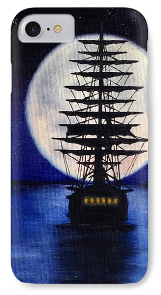 Moon Voyage IPhone Case