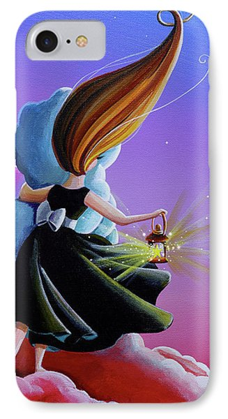 Moon Whisperer IPhone Case by Cindy Thornton
