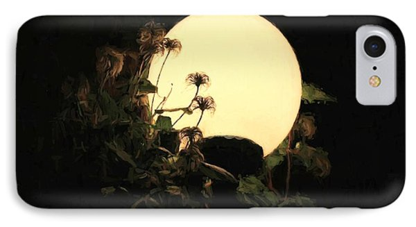 Moonglow Thistles IPhone Case