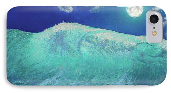 Moonlight At Sea IPhone Case by Miki Karni