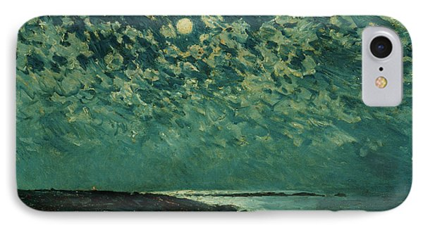 Moonlight Phone Case by Childe Hassam