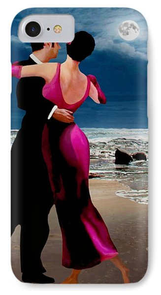 Moonlight Dance V2 IPhone Case by Ron Chambers