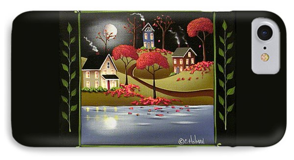Moonlight In Cottage Grove Phone Case by Catherine Holman