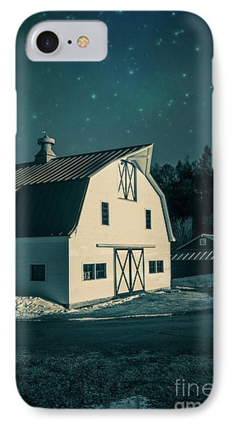 IPhone Case featuring the photograph Moonlight In Vermont by Edward Fielding