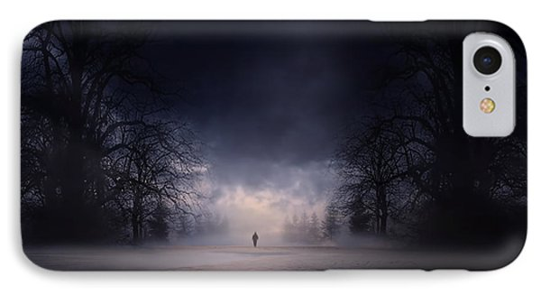 Moonlight Journey IPhone Case by Lourry Legarde