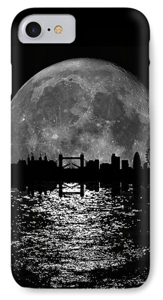 Moonlight London Skyline IPhone Case