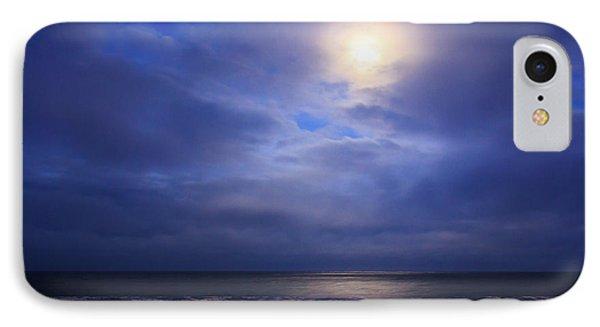 Moonlight On The Ocean At Hatteras IPhone Case by Joni Eskridge