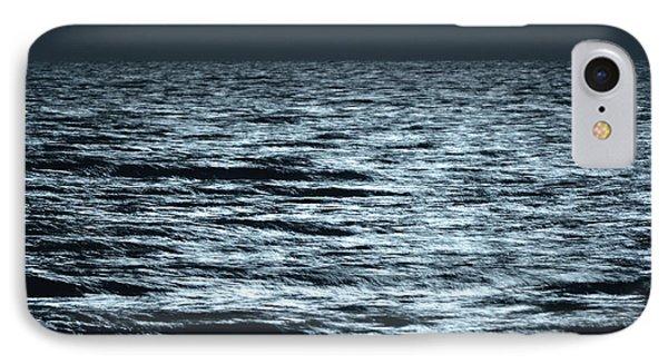 Moonlight On The Ocean Phone Case by Nancy Landry