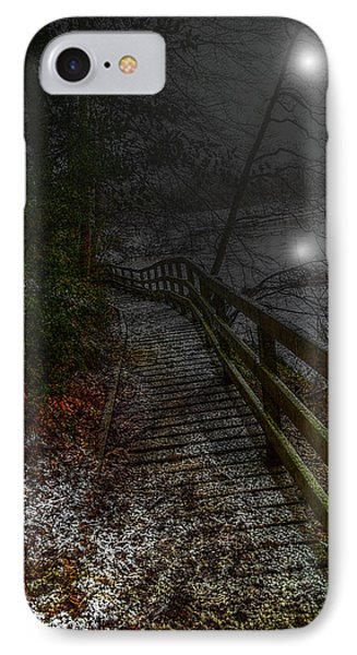 Moonlight On The River Bank IPhone Case