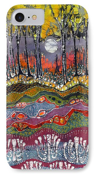 Moonlight Over Spring IPhone Case