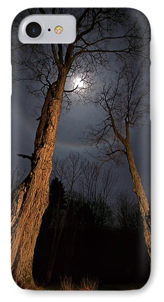 Moonlight Sentinels IPhone Case by Jerry LoFaro