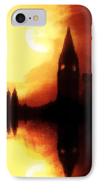 IPhone Case featuring the digital art Moonlight-sonata  by Fine Art By Andrew David