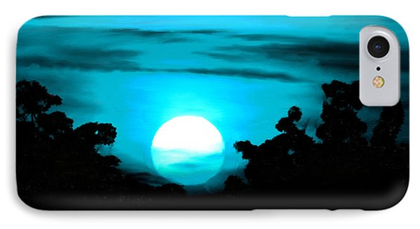 Moonlight Sonata  IPhone Case by Bruce Nutting