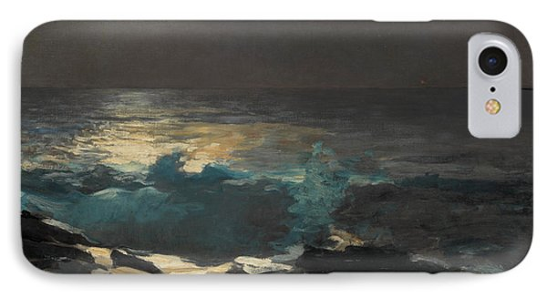 Moonlight, Wood Island Light, 1894 IPhone Case by Winslow Homer