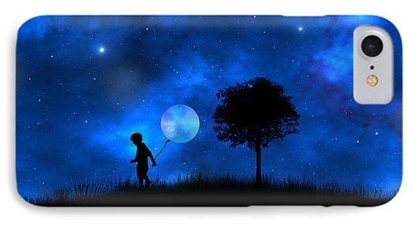 Moonlight Shadow IPhone Case by Bernd Hau