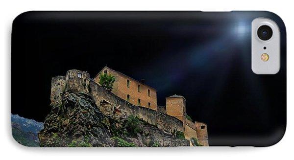 Moonlit Castle IPhone Case by Anthony Dezenzio