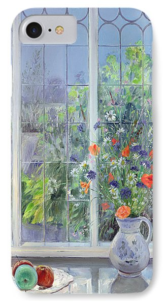 Moonlit Flowers IPhone Case by Timothy Easton