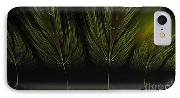 Moonlit Forest Phone Case by Sandra Bauser Digital Art