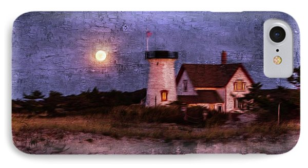 Moonlit Harbor IPhone Case
