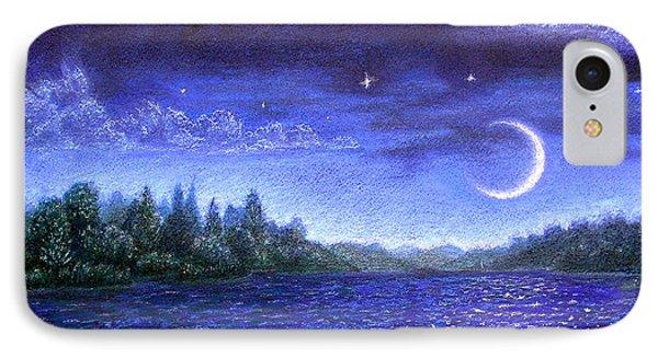 Moonlit Lake IPhone Case