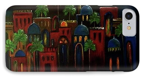 Moonlit Night IPhone Case by Siran Ajel