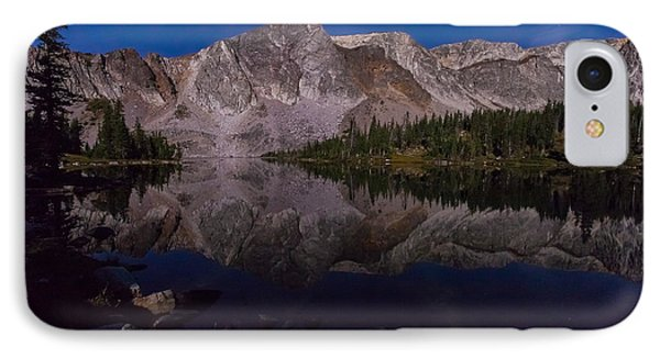 Moonlit Reflections  IPhone Case by Steven Reed